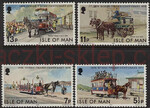 GB Isle of Man Mi.0078-81 czyste**
