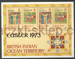 British Indian Ocean Territory Mi.0053 Blok 1 czysty**