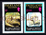 Falkland Islands Mi.0592-593 czyste**