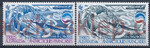 French Antarctic Territory Mi.0200-201 czyste**