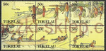 Tokelau Islands Mi.0165-170 czyste**
