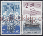 French Antarctic Territory Mi.0212-213 czyste**