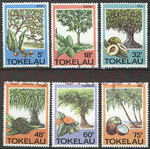 Tokelau Islands Mi.0111-116 czyste**