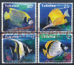 Tokelau Islands Mi.0214-217 czyste**