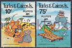Turks & Caicos Islands Mi.0524-525 czyste**