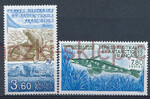 French Antarctic Territory Mi.0274-275 czyste**