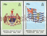 British Indian Ocean Territory Mi.0108-109 czyste**