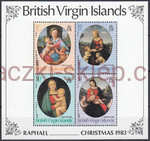 British Virgin Islands Mi.0460-463 blok 19 czyste**