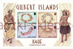Gilbert Islands Mi.314-317 Blok 5 czysty**
