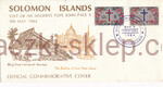 Salomon Islands Mi.0526-527 FDC